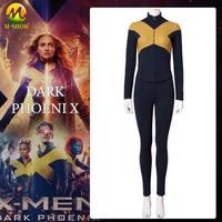 3D Printting X Men Dark Phoenix Cosplay Costume Dark Phoenix Cosplay Full Set Uniform Suit Halloween Costumes For Women