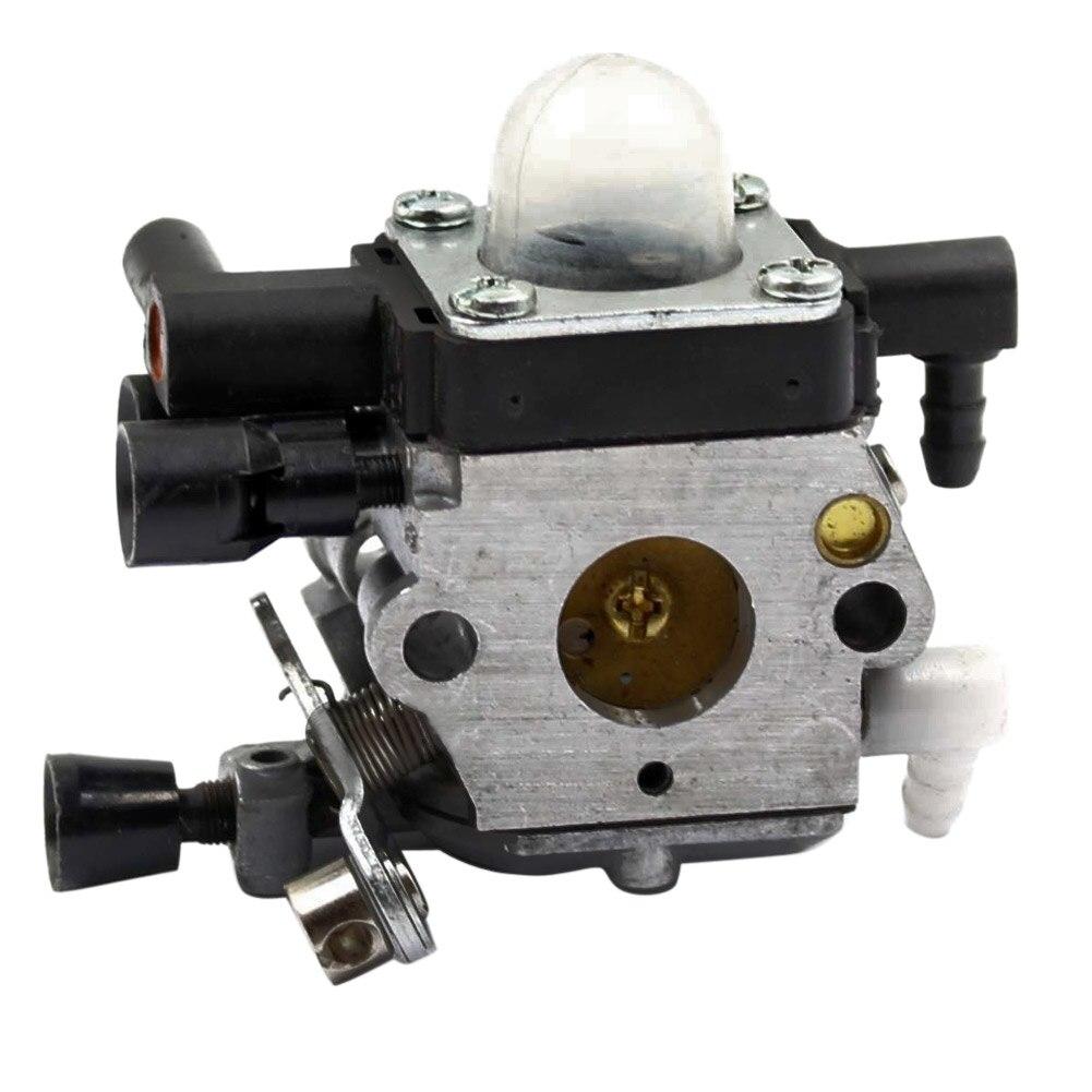 5Pcs Carburetor for 4601-120-0600 Grass Tiller Trimmer Lawn Mower MM55 MM55C C1Q-S202A Carb+Gasket+Primer Bulb Set  цены