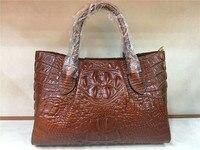 Luxury Women Crocodile pattern Handbags High Quality Genuine Leather Alligator pattern Designer diolevy brand lady Shoulder Bag