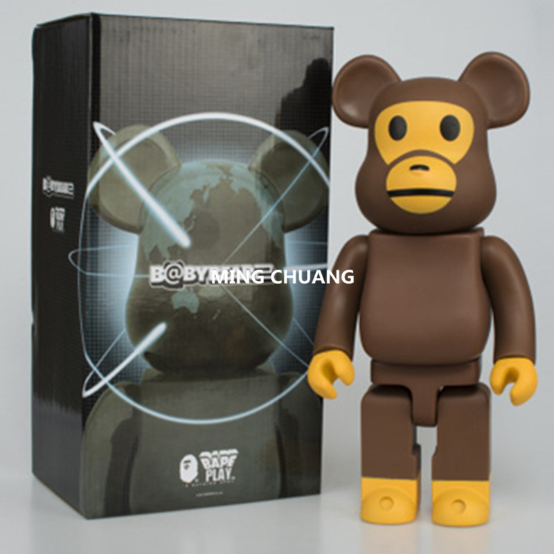 11 Inches Be@rbrick 400% Bearbrick Orangutan Gloomy BB PVC Action Figure Collectible Model Toy D169 цена