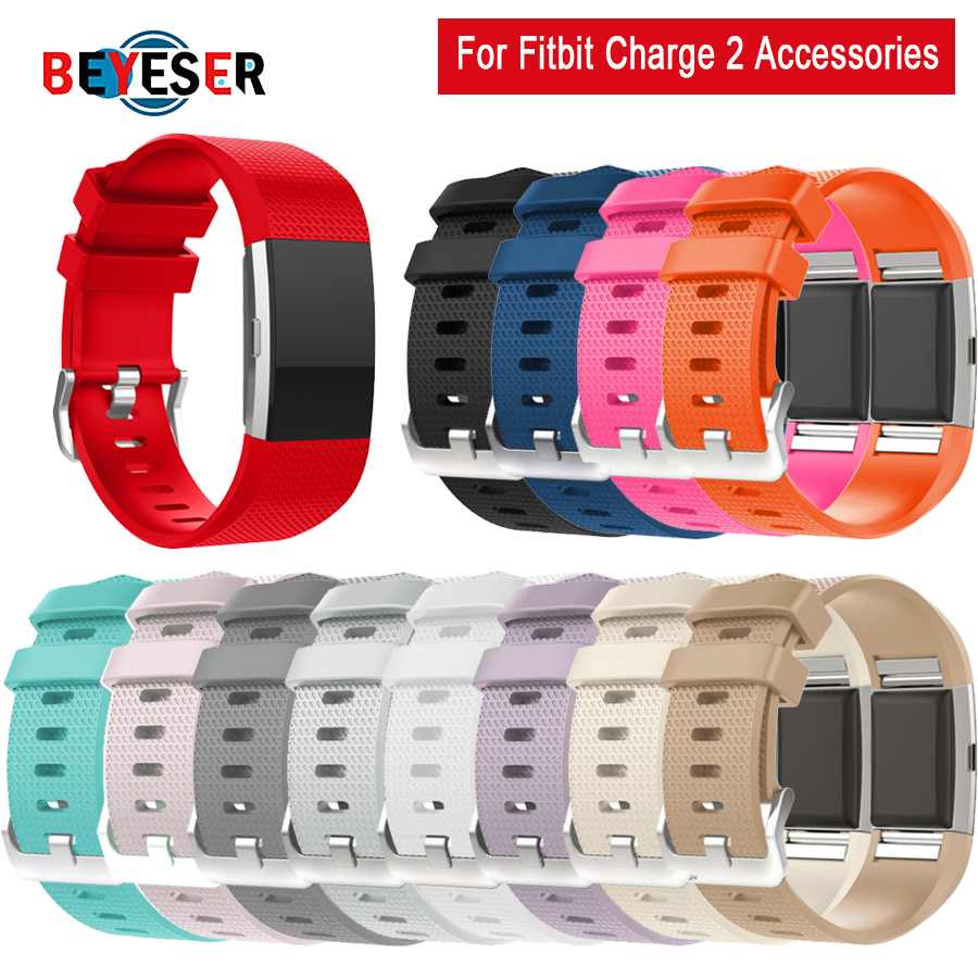 BEYESER Accessories For Fitbit Charge 2 Band Replacement Bracelet Strap For Fitbit Charge 2 Band Wristband For Fitbit Charge 2