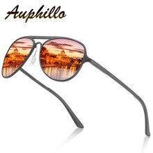 AUPHILLO Fashion Sunglasses Brand Woman Polarized Sunglasses Aluminum Magnesium Men Driving Sun glasses Pilot Sunglasses A154