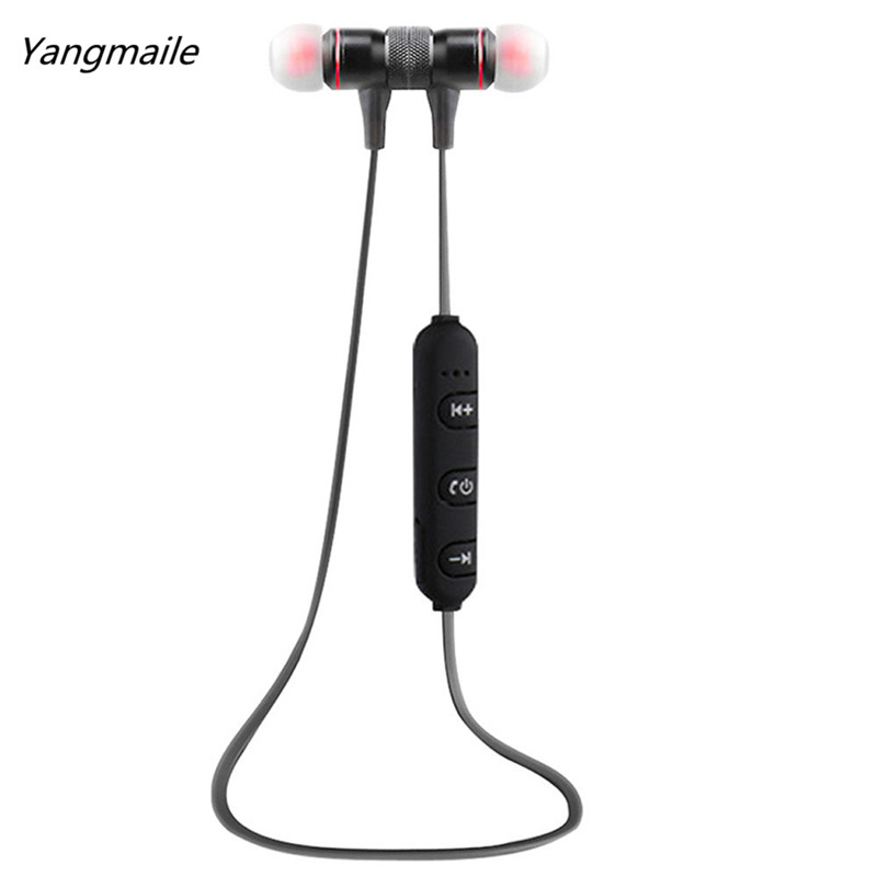 Yangmaile Portable Bluetooth Earphone Sports Headset Earphones Wireless Headphones For a mobile phone Free Shipping H1T07