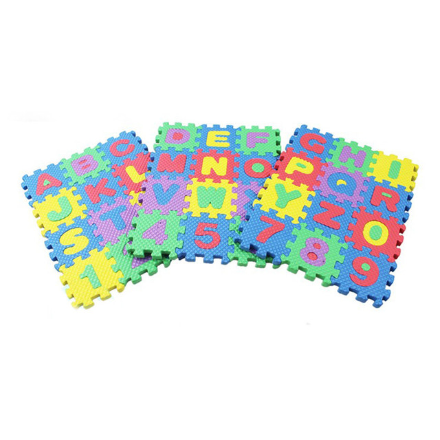 Alphabet and Numbers Puzzle Set