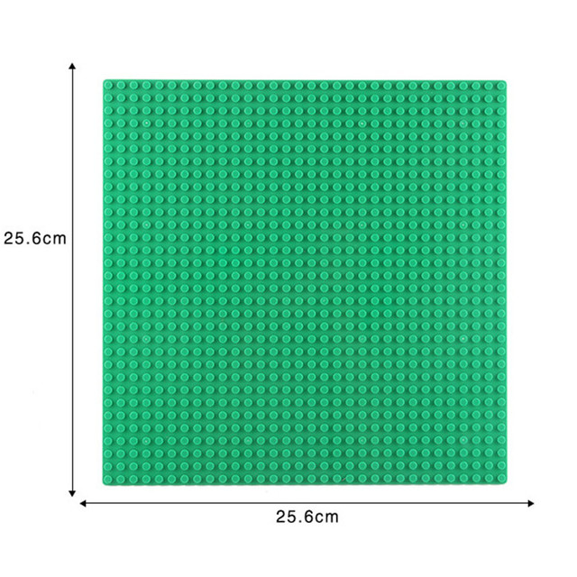 32*32 Dots Base Plate for Small Bricks Baseplate Board DIY City Building Blocks Sets Parts Educational Toys for Children