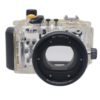 Mcoplus 40m 130ft Waterproof Underwater Diving Housing Camera Bag Case for Canon S95