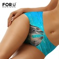 FORUDESIGNS Womens Panties Anti Emptied Underwear Dolphin Horse Ladies Panty Sexy Briefs Women Seamless Bragas Mujer Calcinha