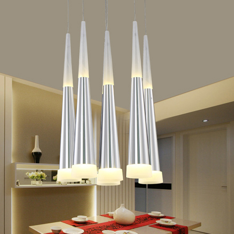 LED Aluminum Acrylic Living Pendant Lamp Bedroom Decorative Restaurant Dining Kitchen Room Bar Pendant Light For Study Cafe Room a1 master bedroom living room lamp crystal pendant lights dining room lamp european style dual use fashion pendant lamps