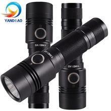 YANDIAO High Power G4 LED Flashlight 4 Modes Portable Tactical Torch Light Waterproof Camping Hunting Lantern Lamp недорого