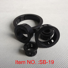 SB-19 Nylon black cable protector hole plugs electrical wire grommets 46 60mm hole pitch sb nb chipset cooler copper black