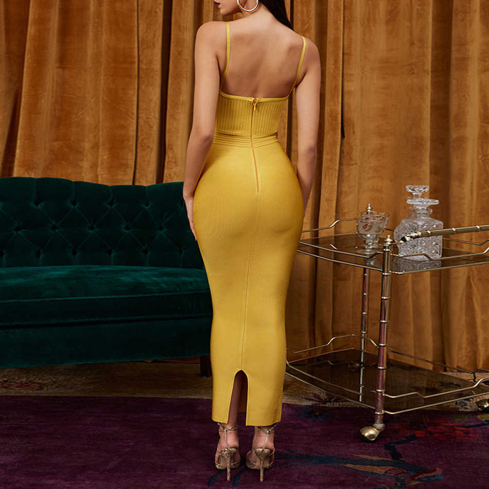 Adyce облегающее летнее Бандажное платье для женщин Vestido 2019 сексуальное платье на бретельках без рукавов Макси Клубное вечернее платье знаменитостей
