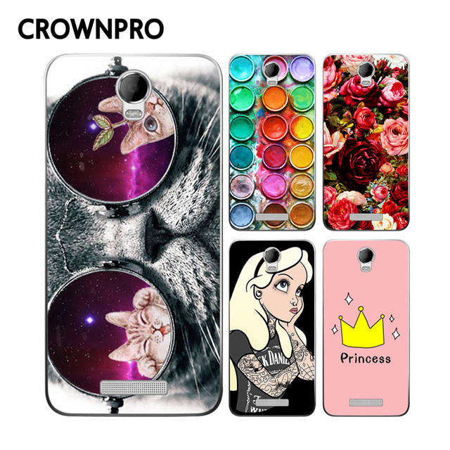 CROWNPRO Micromax AQ5001 Case Cover Micromax AQ 5001 TPU Case Back Protector Micromax Canvas Power AQ5001 / Juice 2 AQ5001 Case