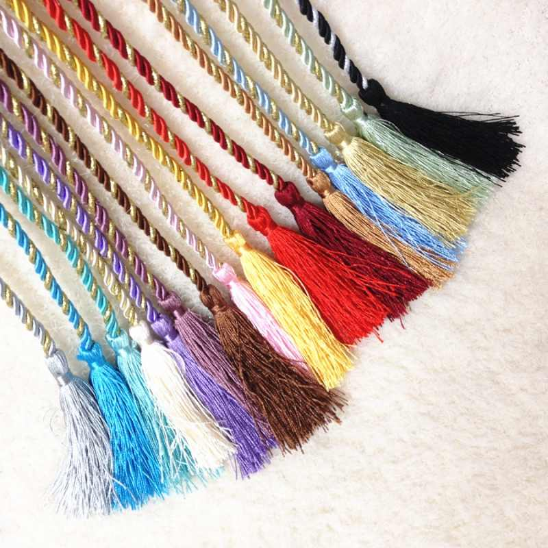 Cord Tassels Cotton Rope for Curtains Apparel Sewing & Fabric Curtain Decorative Home Textile Living Room