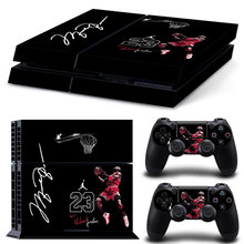 New Basketball Michael Jordan Cover Decal PS4 Skin Sticker For Sony PlayStation 4 Console & 2 Controller Skins(China)