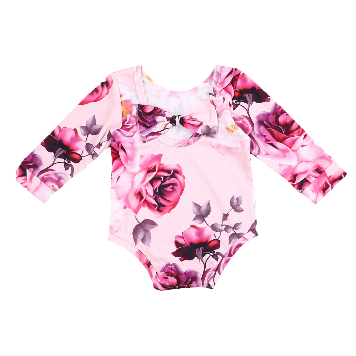 Pudcoco Newborn Infant Baby Girls Kids Cotton Floral Romper Jumpsuit Long Sleeve Winter Clothes Outfit Toddler OnePiece newborn baby rompers baby clothing 100% cotton infant jumpsuit ropa bebe long sleeve girl boys rompers costumes baby romper