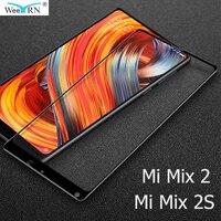 2,5 D für Xiaomi Mi Mix 2 S / Mix 2 Glas Film 9H Härte Gehärtetem Glas für Xiaomi mi Mix 2 S / Mi Mix 2 Screen Protector