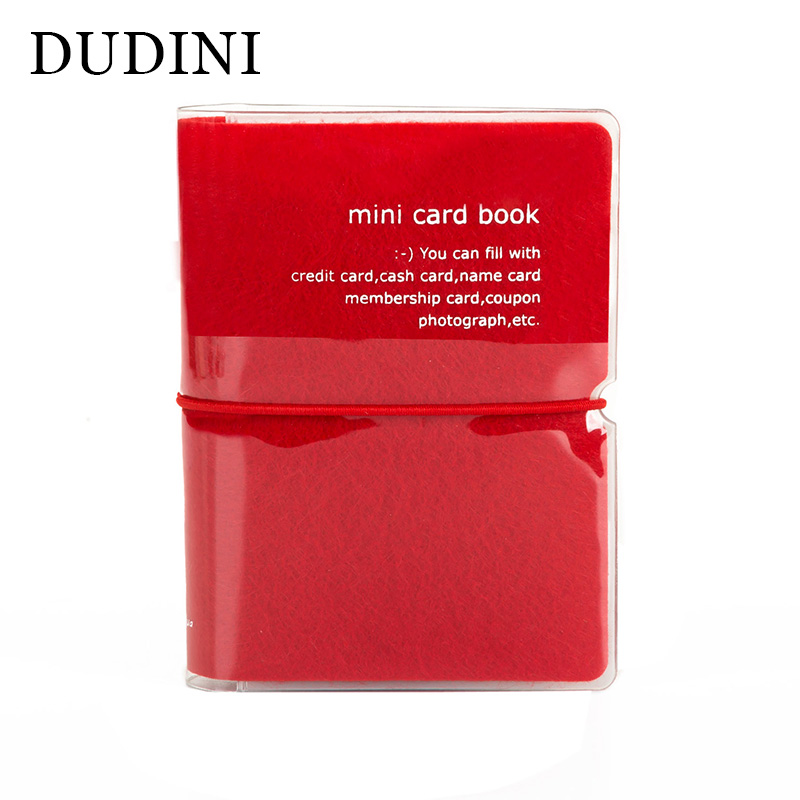 DUDINI New Fashion Men & Women Credit Card Holder/Case card holder Wallet Candy Color Business Cards Bag ID Holders business card holder women vogue thumb slide out stainless steel pocket id credit card holder case men