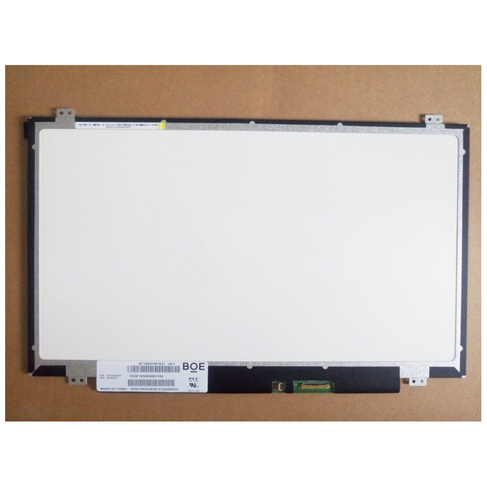 For BOE HB140WHA-102 HB140WHA 102 LED Screen LCD Display With Touch Matrix for Laptop 14.0 HD 1366X768 40Pin Replacement b156xtt01 1 with touch panel lcd screen matrix for laptop 15 6 touch screen 1366x768 hd 40pin glare