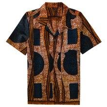 Achetez African Galerie Gros À Shirt Print For Men Wax En Vente xgZzx