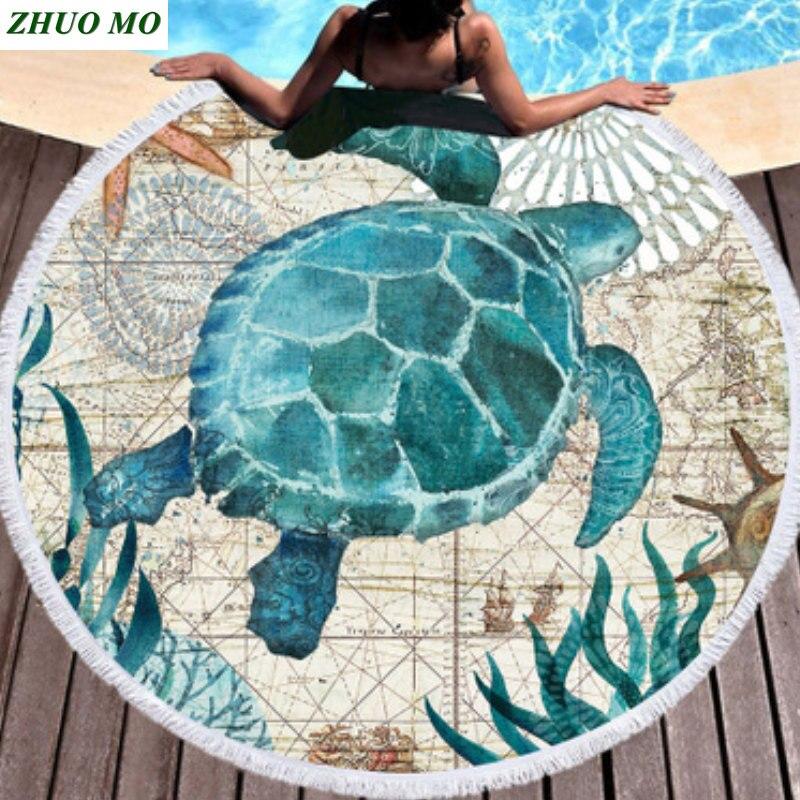 Home Yebeile Microfiber Round Mandala Tapestry Wall Hanging Throw Towel Beach Yoga Mat Decor Boho Circle Hoursebeach Towel