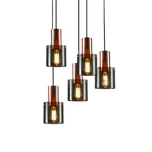 Apextech Vintage Pendant Lamp Nordic Postmodern Hanging Light Dining Room Restaurant Bar Pendant Lights lican nordic restaurant pendant lights dining room bedroom lamp creative personality bar table lights pendant lamp home decors