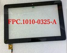 """10.1 """"Pulgadas DNS AirTab FPC.1010-0325-A pmp5101d3g quad P100QW Tablet Touch panel Digitalizador Del Sensor de Cristal de reemplazo de pantalla 1"""