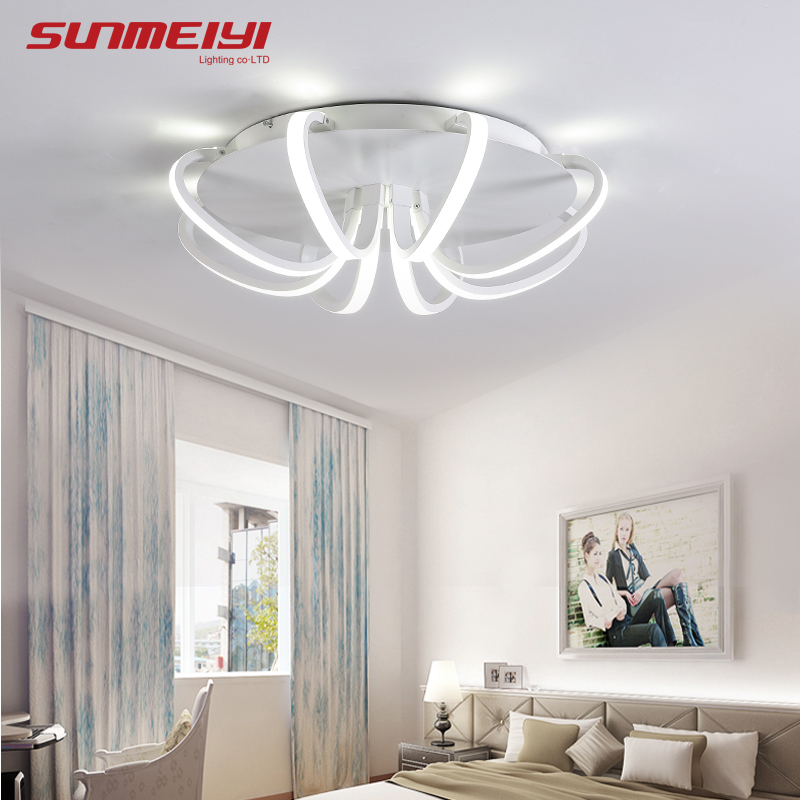 Lights & Lighting New Design Led Ceiling Light For Living Room Dining Room Luminaires For Teto Led Lights For Modern Home Lighting Fixture Ceiling Lights