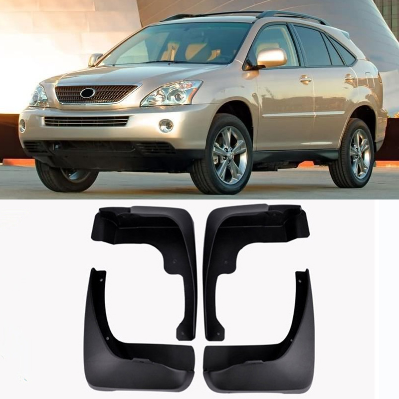 For Lexus RX RX330 RX350 RX400h 2004 - 2009 Mudflaps Splash Guards Mud Flap Mudguards Fender 2005 2006 2007 2008 Car Mud Flaps все цены
