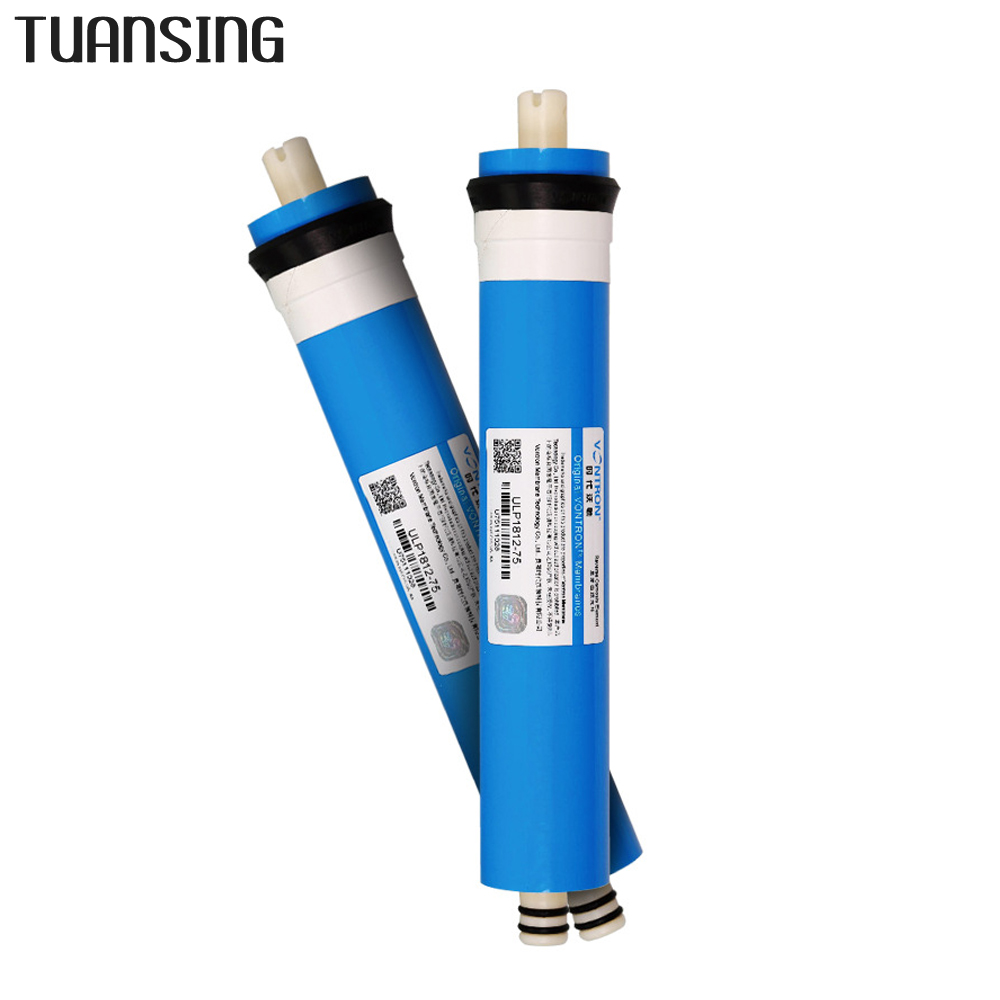 Image 2 - Vontron ULP1812 75 de ósmosis inversa 75GPD membrana RO reemplazo Universal Compatible RO se adapta a purificador de filtro de agua residencialFiltros de agua   -