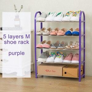 Image 5 - โมเดิร์นแฟชั่นรองเท้า Organizer รองเท้าตู้รองเท้าตู้เสื้อผ้าประกอบพับเฟอร์นิเจอร์อเนกประสงค์รองเท้า Rack