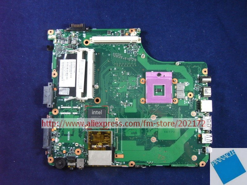 V000125930 motherboard for TOSHIBA Satellite A300  A305 motherboard 6050A2171501 nokotion sps v000198120 for toshiba satellite a500 a505 motherboard intel gm45 ddr2 6050a2323101 mb a01