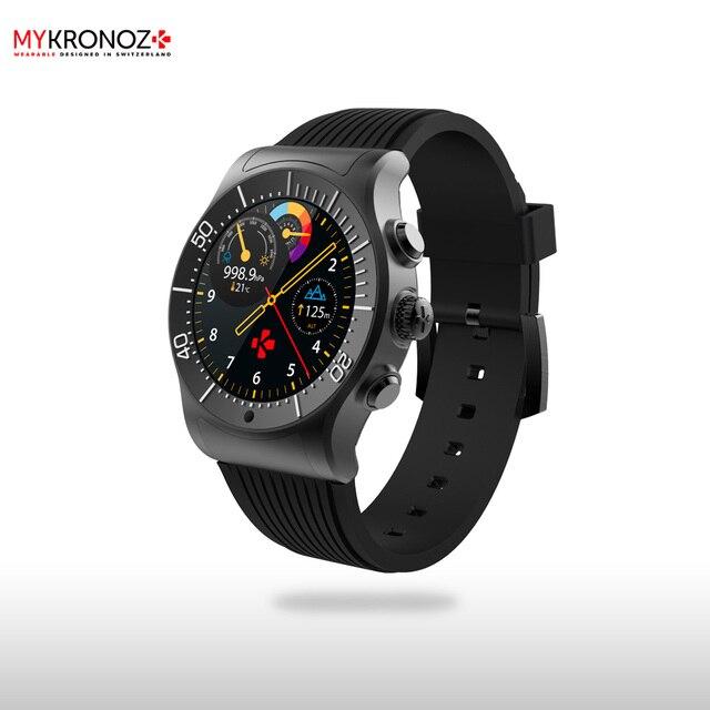 Смарт часы MyKronoz ZeSport цвет черный/черный