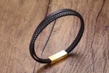 Модный подарок для влюбленных пар браслеты из нержавеющей стали