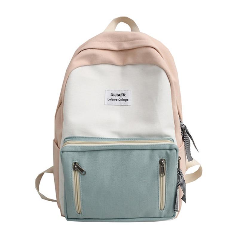 Fashion Ladies Backpack Female Bookbag For Girls Stylish School Bag Women Backpack For School Teenagers Girls Mochila School Bag