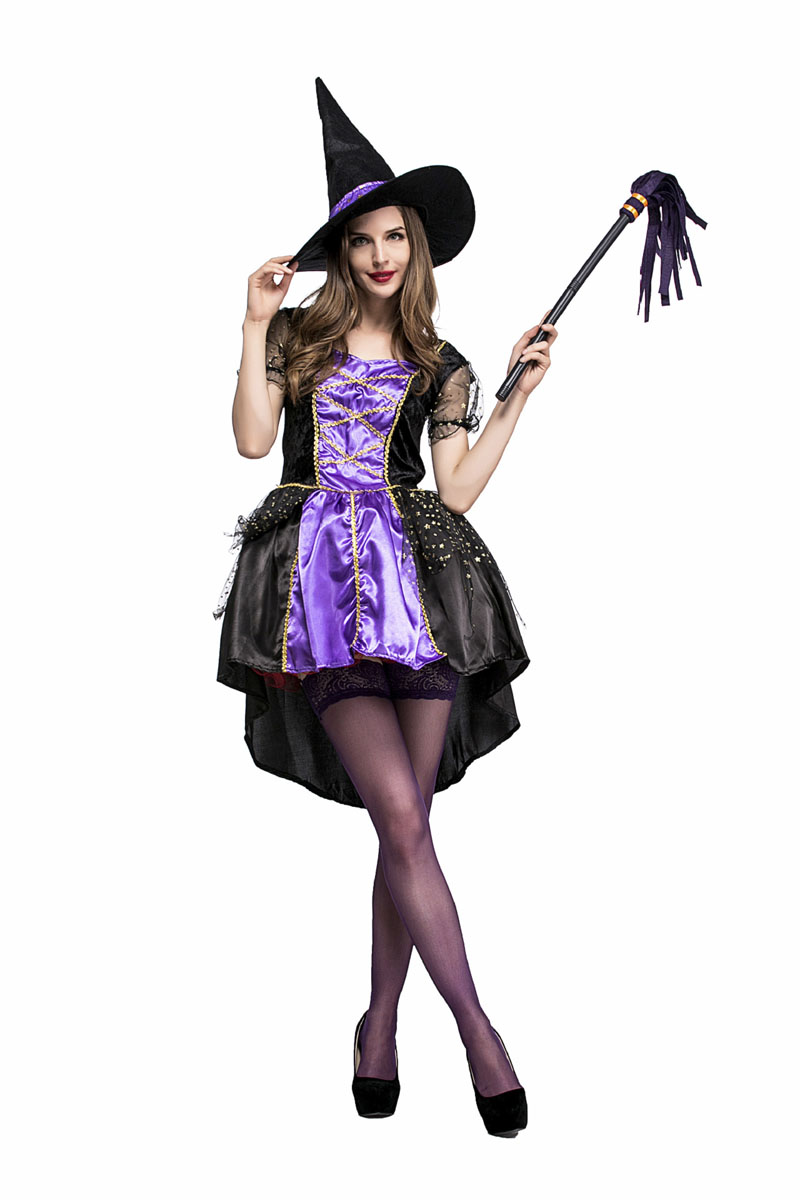 Black dress costume elf