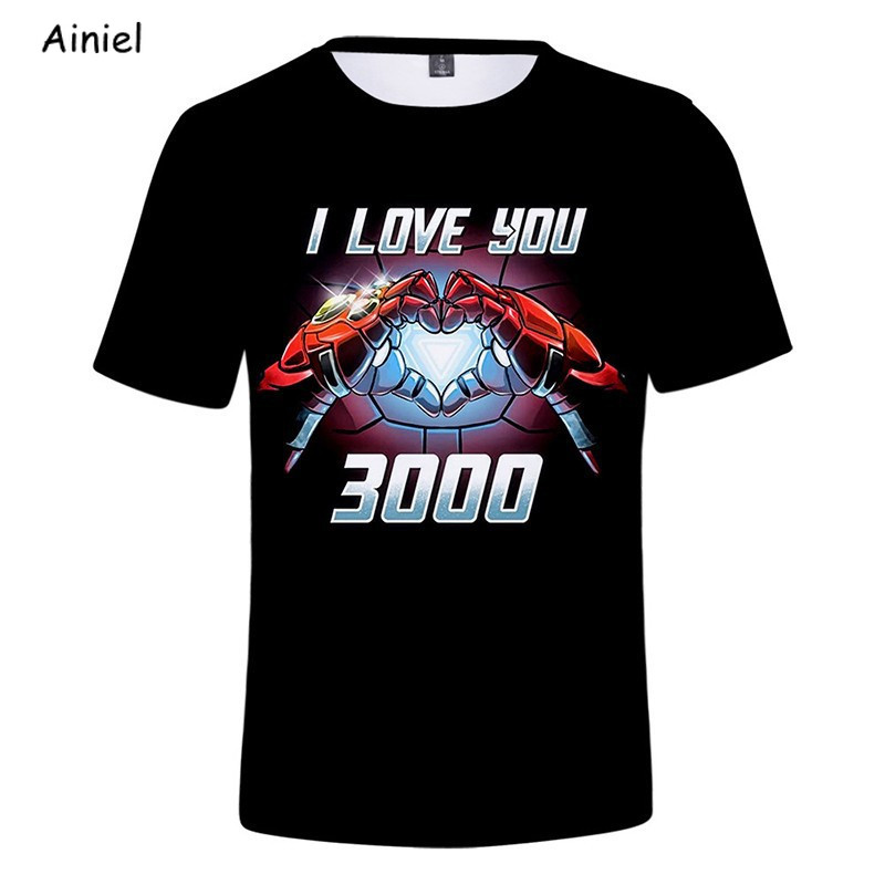 4 Endgame Hoodie Sweatshirts Iron Man Cosplay Costume <font><b>Tony</b></font> <font><b>Stark</b></font> I Love You 3000 Times <font><b>T</b></font> <font><b>Shirt</b></font> Coat <font><b>Women</b></font> Men image