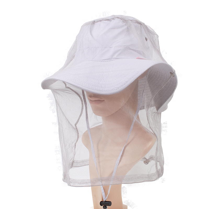 Outdoor Fishing Anti-mosquito Insect Headnet Face Guard Headgear Hood F-01