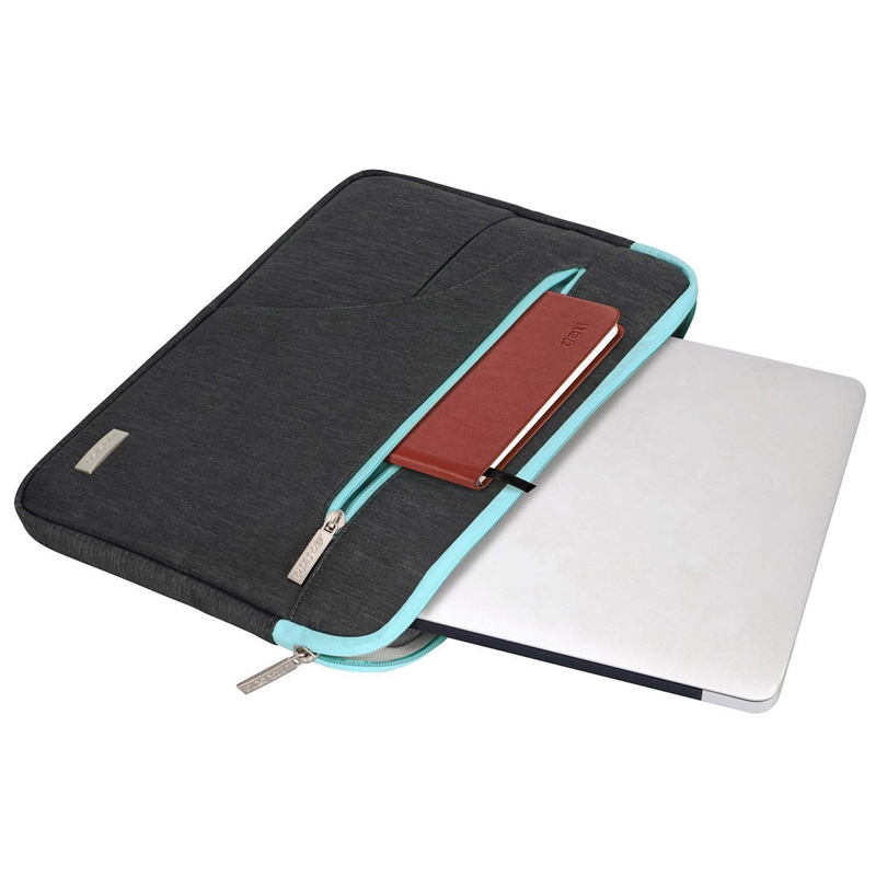 Image 4 - MOSISO Laptop Bag Sleeve 11.6 12 13.3 14 15.6 inch Notebook Sleeve Bag For Macbook Air Pro 13 15 Dell Asus HP Acer Laptop Case-in Laptop Bags & Cases from Computer & Office