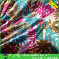 Fashionable High Quality Factory Price Cheap 100% Polyester Floral Printed Satin Fabrics