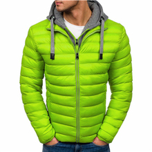 ZOGAA Fashion Men's Warm Jacket Coat Autumn Winter Male Thermal Parkas Men New 2019 Clothing Outdoors Down Slim Casual Coats цена 2017