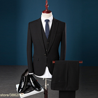 Custom made spring luxury mens suits terno casamento plus size 4xl 3 pieces casual mens suits italian slim fit 7XL 8XL 9XL 10XL