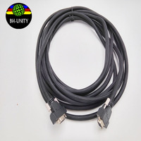 high density cable for infiniti DX5 print head date cable 14pin 4M/6M Allwin black PCI cable for inkjet printer