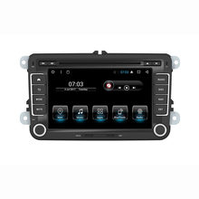 "7 ""Android car stereo Trong dash car dvd player gps nav cho vw Jetta Golf GTI Passat Polo Caddy 16G Nand Flash Quad Core 1024*600(China)"