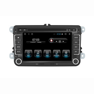 """7""""Android car stereo In dash car dvd player gps nav for vw Jetta Golf GTI Passat Polo Caddy 16G Nand Flash Quad Core 1024*600(China)"""