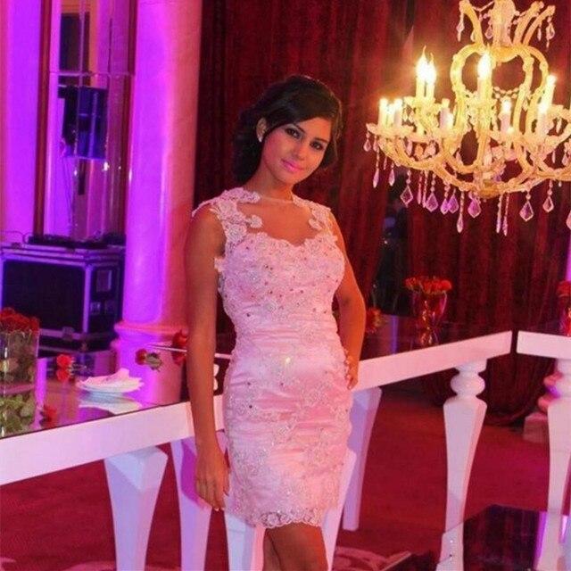 Robe De Cocktail Nuevo Rosado Atractivo de La Sirena vestidos de ...