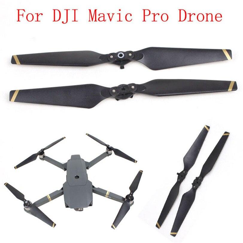 2 Pcs Hélices Pour DJI Mavic Pro 8330 Rapide-libération Hélice Repliable Vis Prop Pour DJI Mavic Pro Accessoires Drone