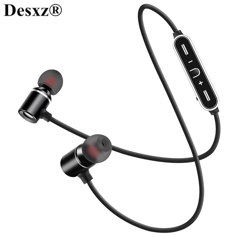Bluetooth Earphones Wireless Headphone Sports SweatProof Earpiece Magnetic Headset Stereo mi headphones earbud For xiaomi huawei