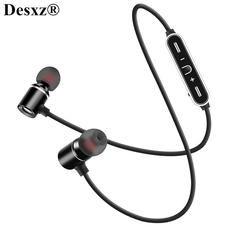 Wireless Magnetic Headset Stereo Headphone Bluetooth Earphones Sports SweatProof Earpiece mi headphones earbud For xiaomi huawei
