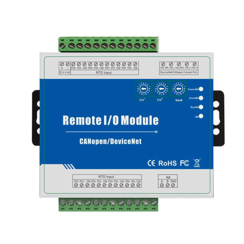 все цены на CANopen RTD Remote IO Module Measure Range -120 ~420 Celsius Degree Support Predefined Master/Slave M340C онлайн