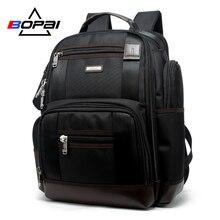 BOPAI Brand Multifunction Travel Backpack Bag Large Capacity Shoulders Laptop Fashion Men Size 43*35*20cm